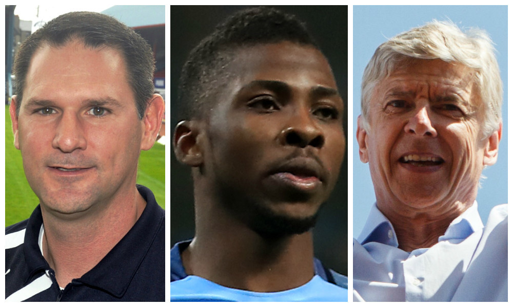 John Nelms, Kelechi Iheanacho and Arsene Wenger