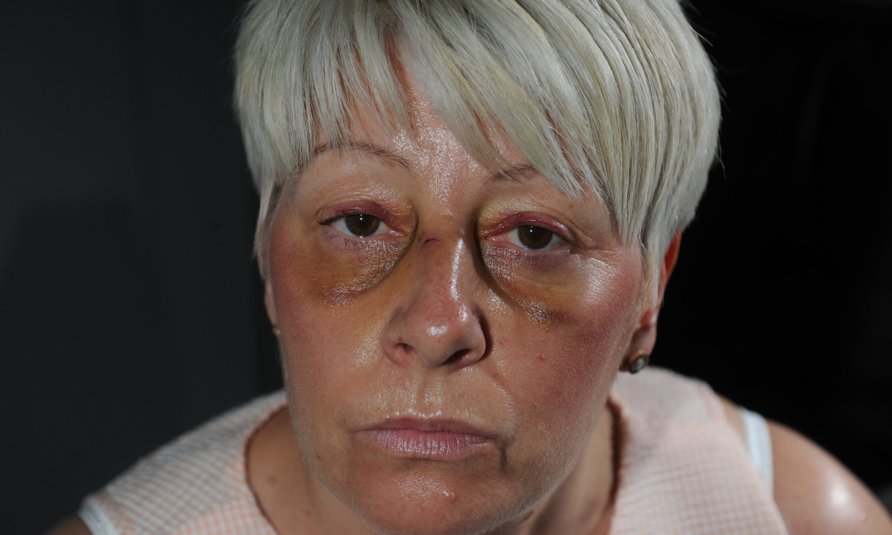 Madelaine Smith was attacked by Hamilton fans last Thursday after the playoff match outside Tannadice