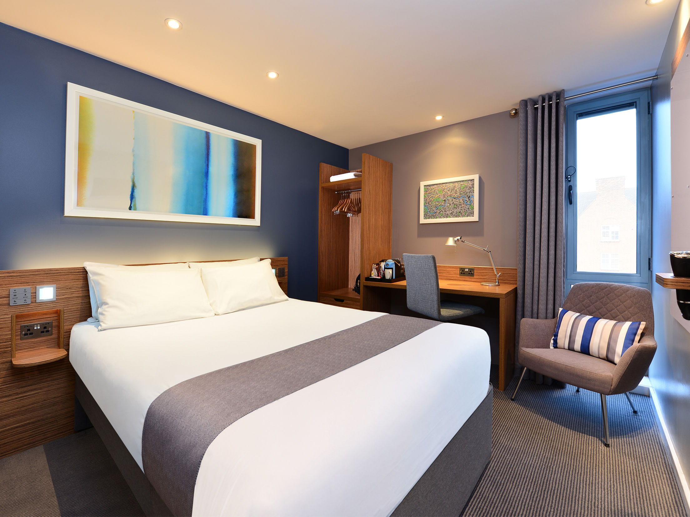 Inside a Travelodge (stock image)