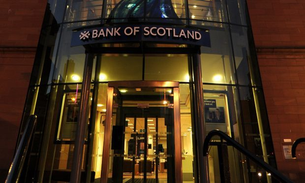 The Bank of Scotland on Marketgait