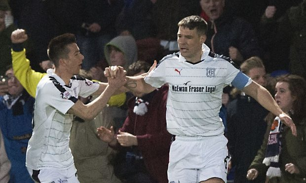 Dundee FC's new captaincy duo Cammy Kerr and Darren O'Dea