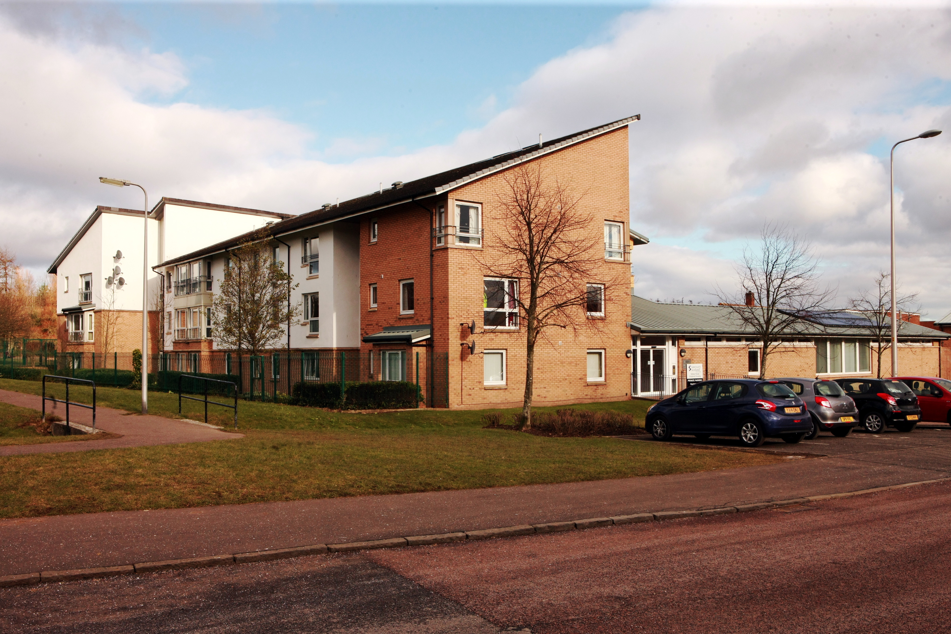 Some of the Sanctuary Scotland housing in Dundee