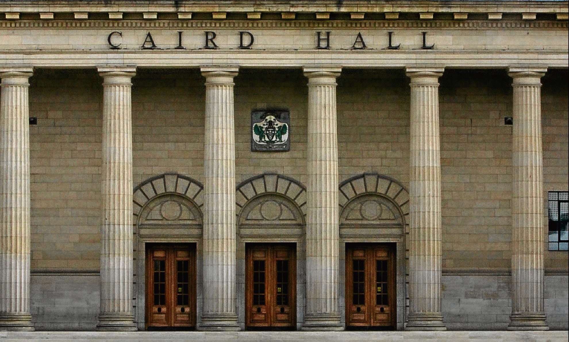The demonstration was due to be held outside Caird Hall