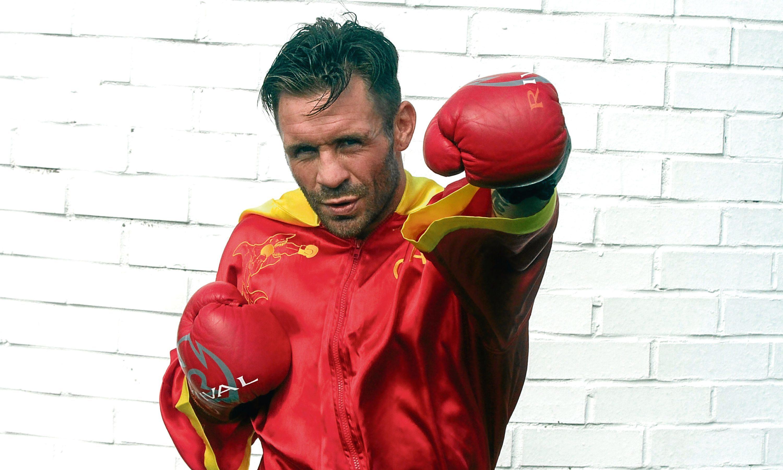 Boxer Ronnie Clark