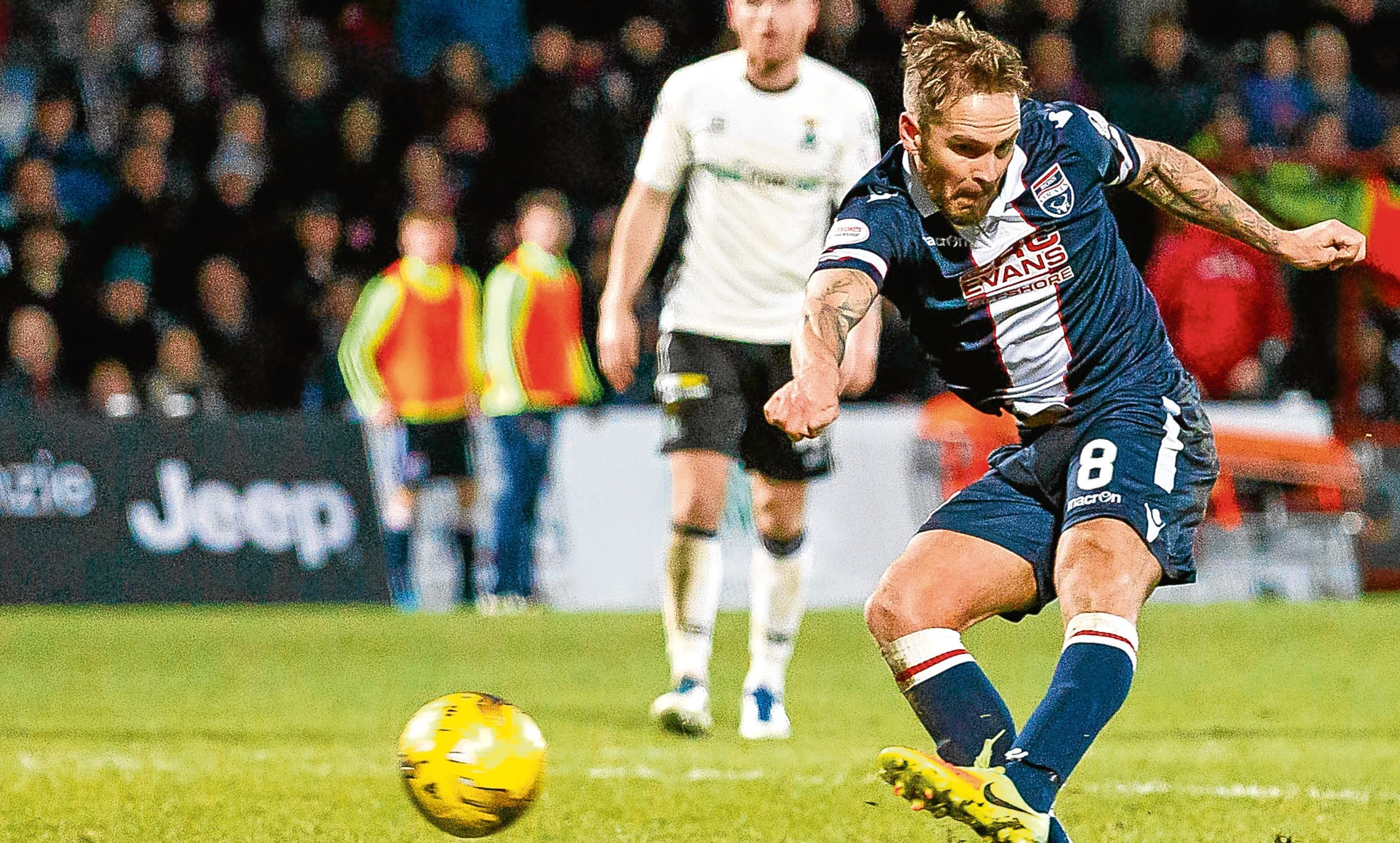 Midfielder Martin Woods played 35 times for Ross County last season but has been released by the Dingwall outfit.
