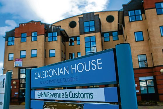 Caledonian House where the HMRC offices are based.