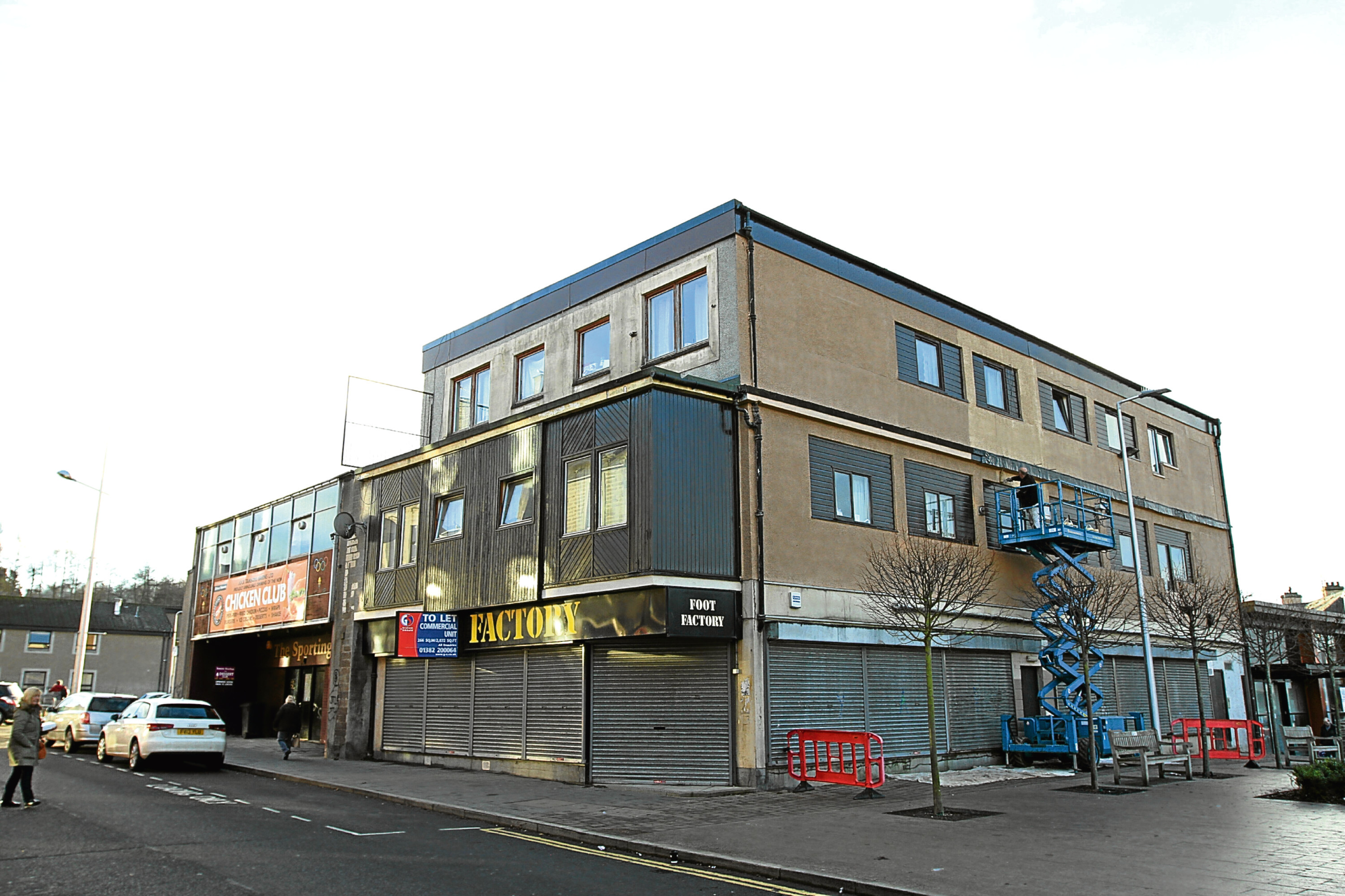The former Foot Factory unit in Lochee