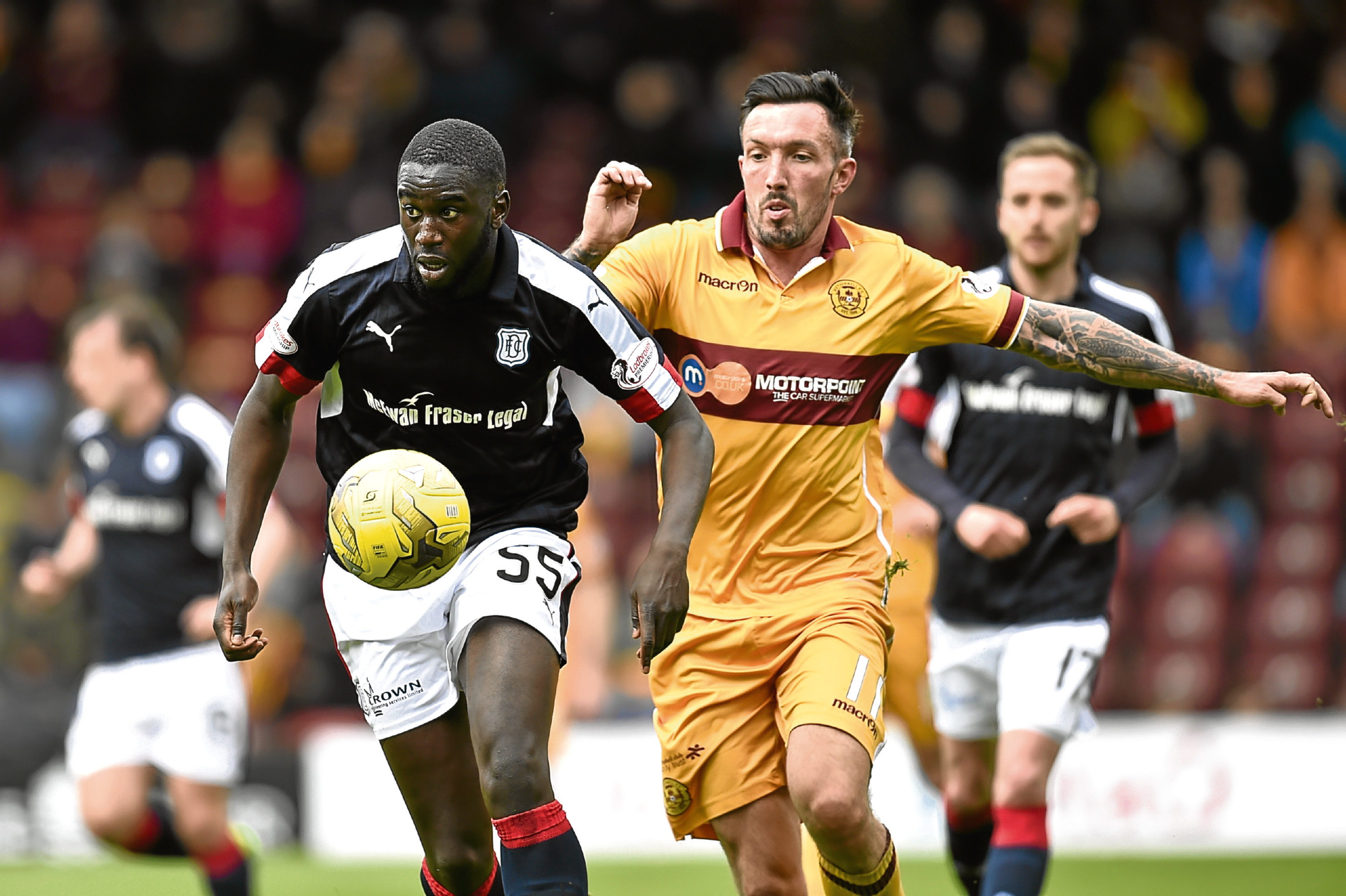 Kevin Gomis has left the club. More are expected to follow.
