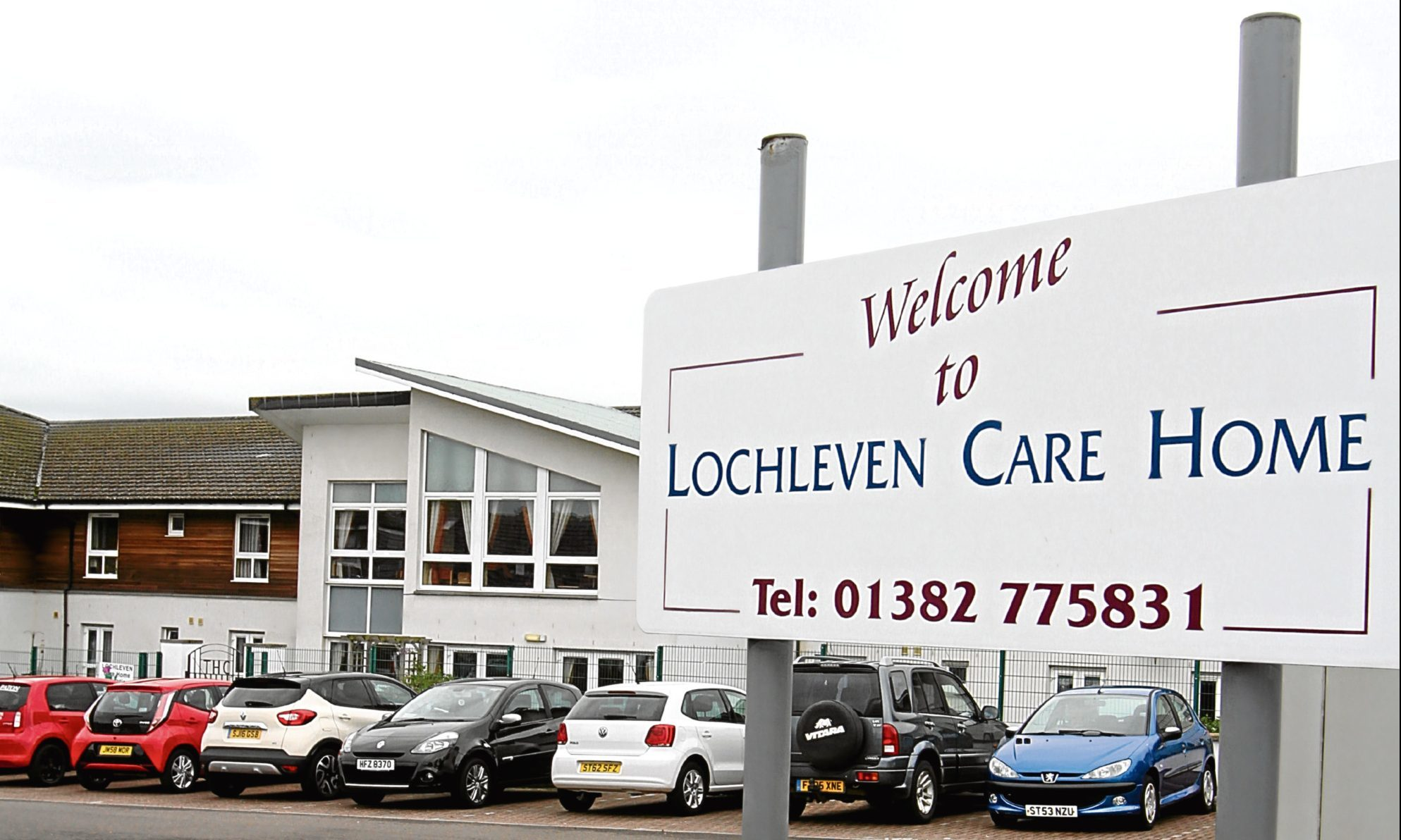 Loch Leven Care Home on Lawers Drive in Broughty Ferry
