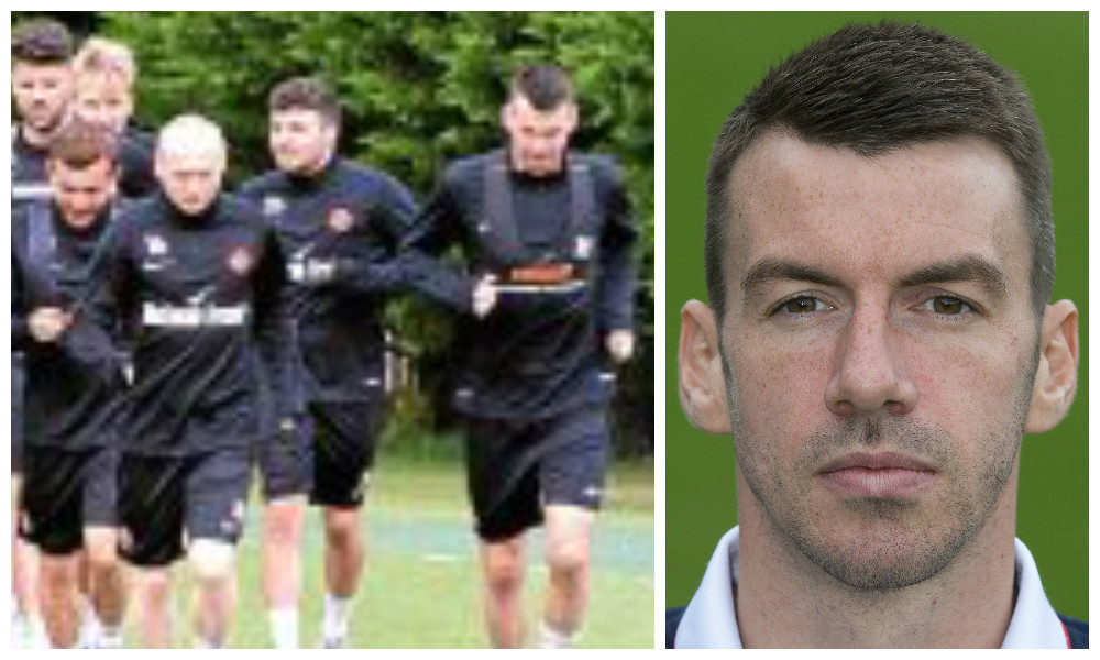 Dundee United have returned to pre-season and among their numbers is former Ross County defender Paul Quinn (right)