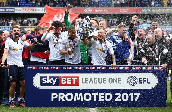 Bolton Wanderers won promotion to the English Championship last season.