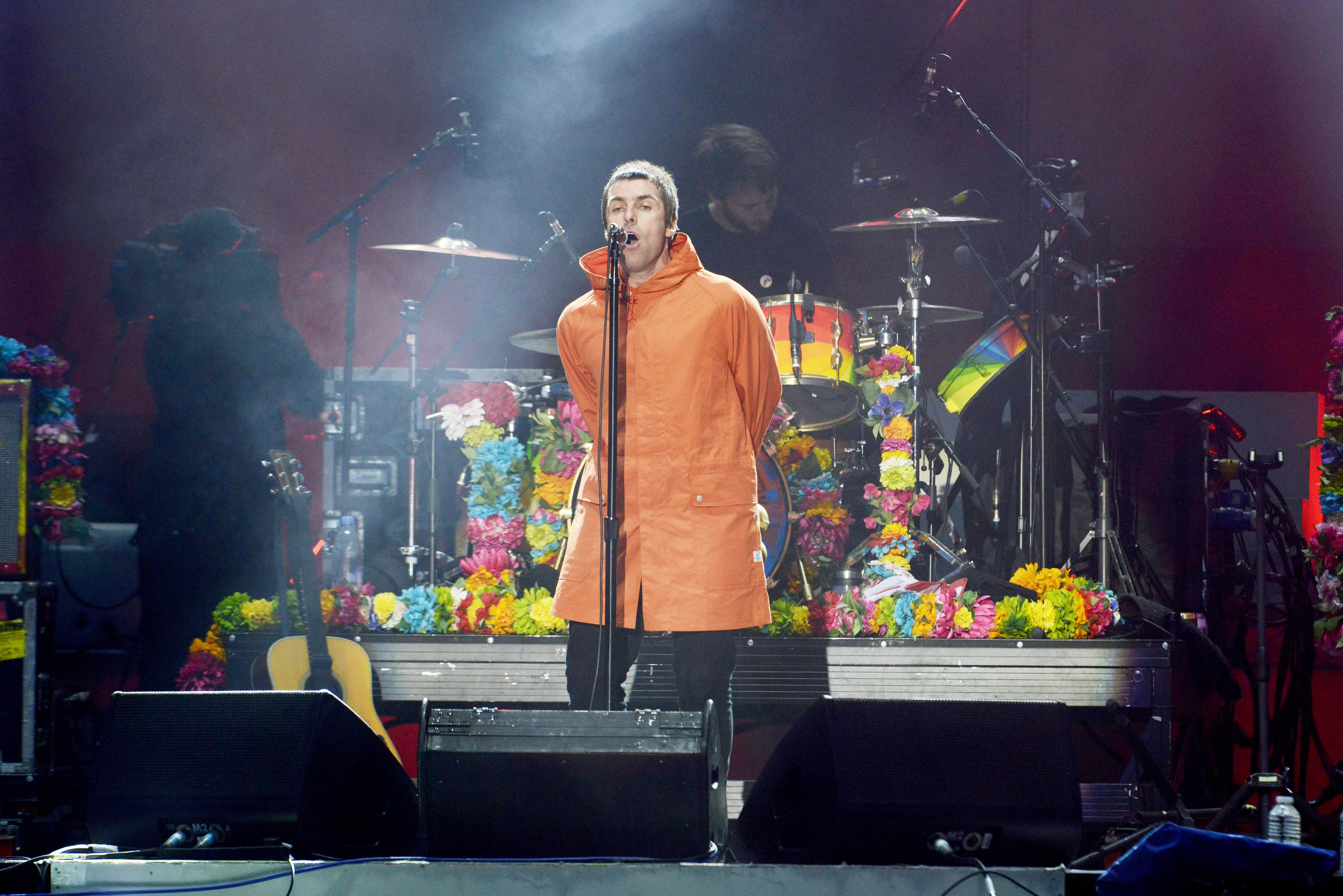 Liam Gallagher performing during the One Love Manchester benefit concert