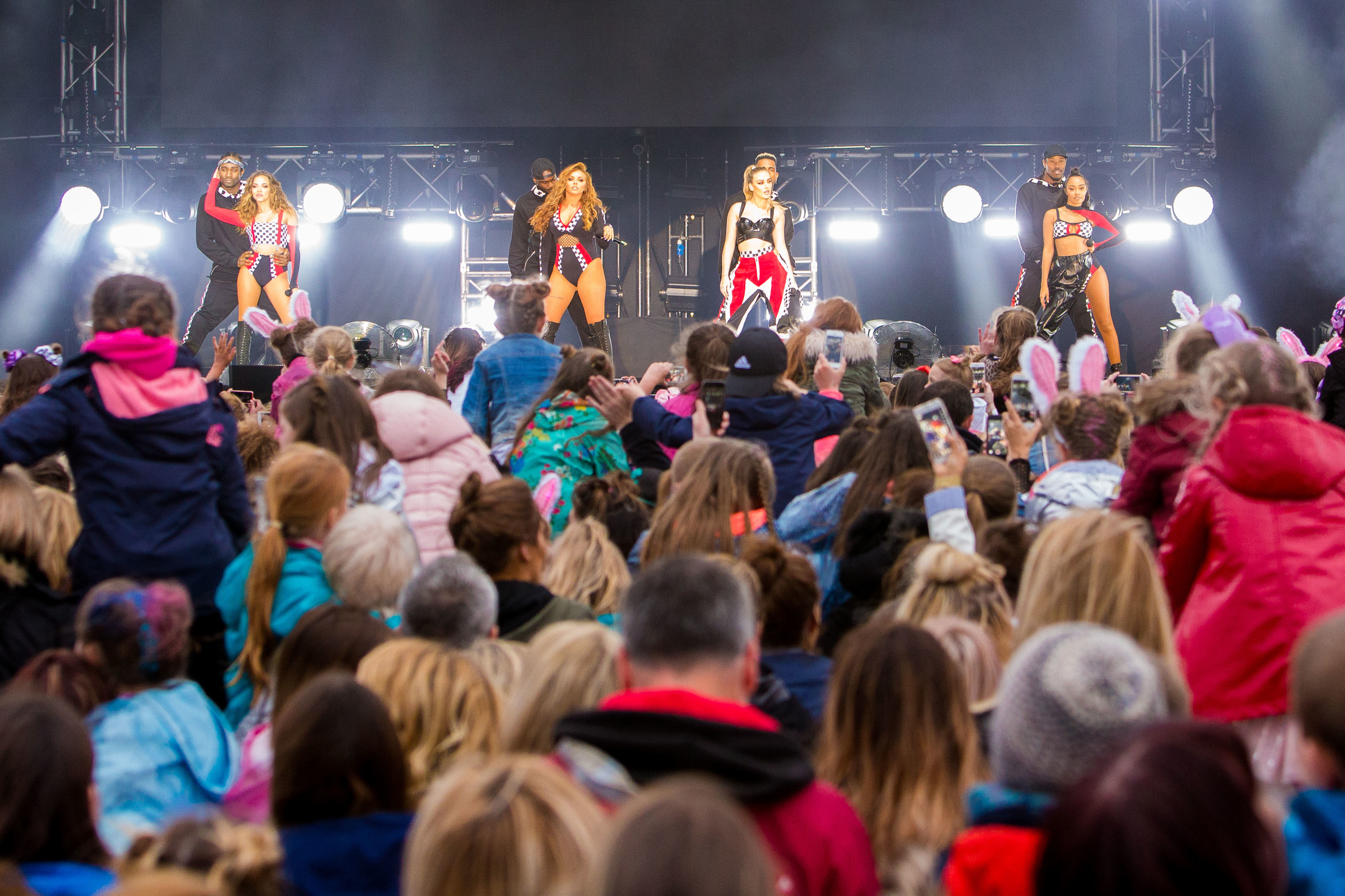 Little Mix perform in Dundee's Slessor Gardens in June