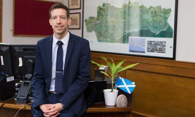 Dundee council leader John Alexander