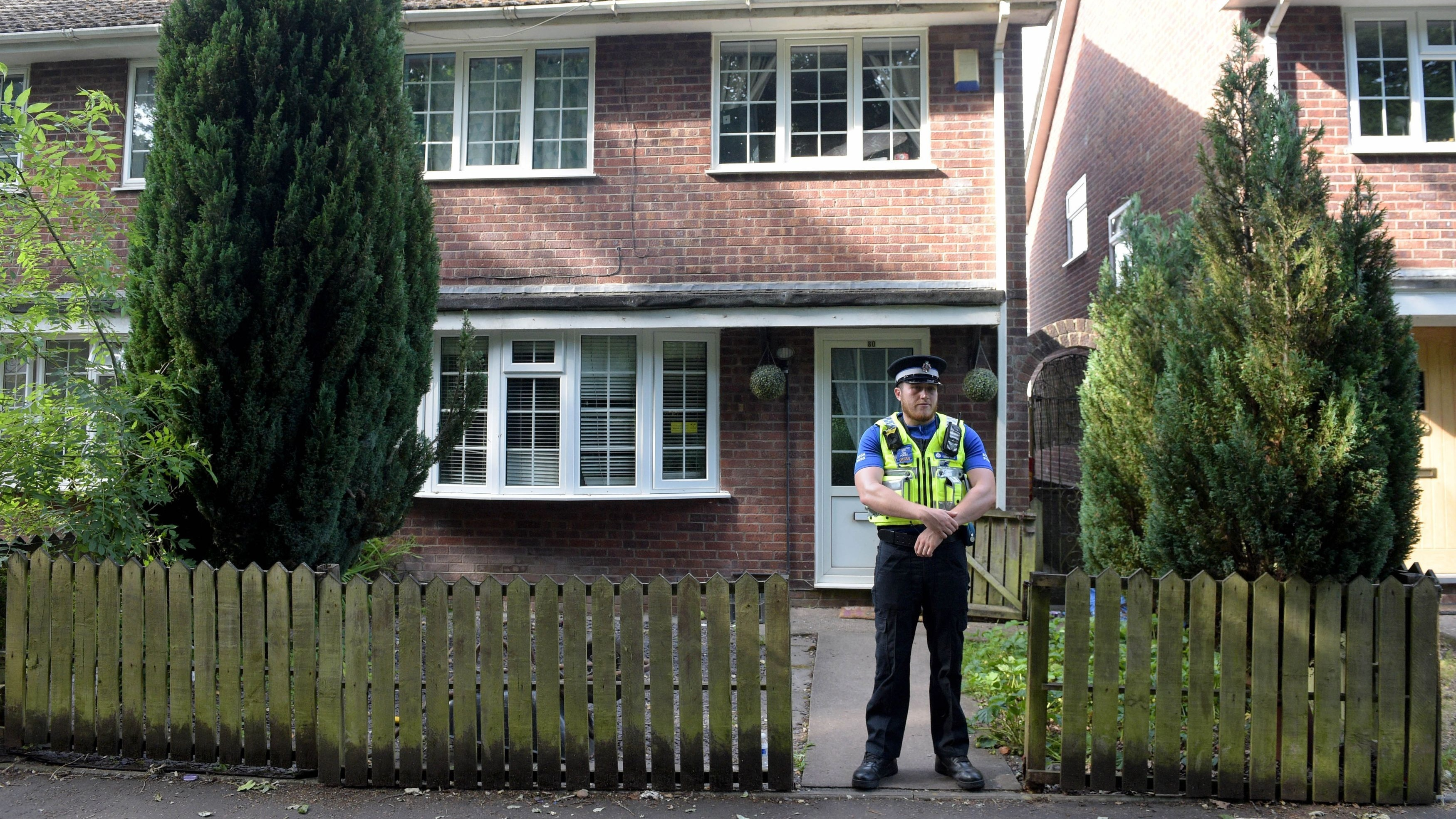 Darren Osborne, a 47-year-old who is believed to be a father-of-four from Cardiff, was arrested at the scene.