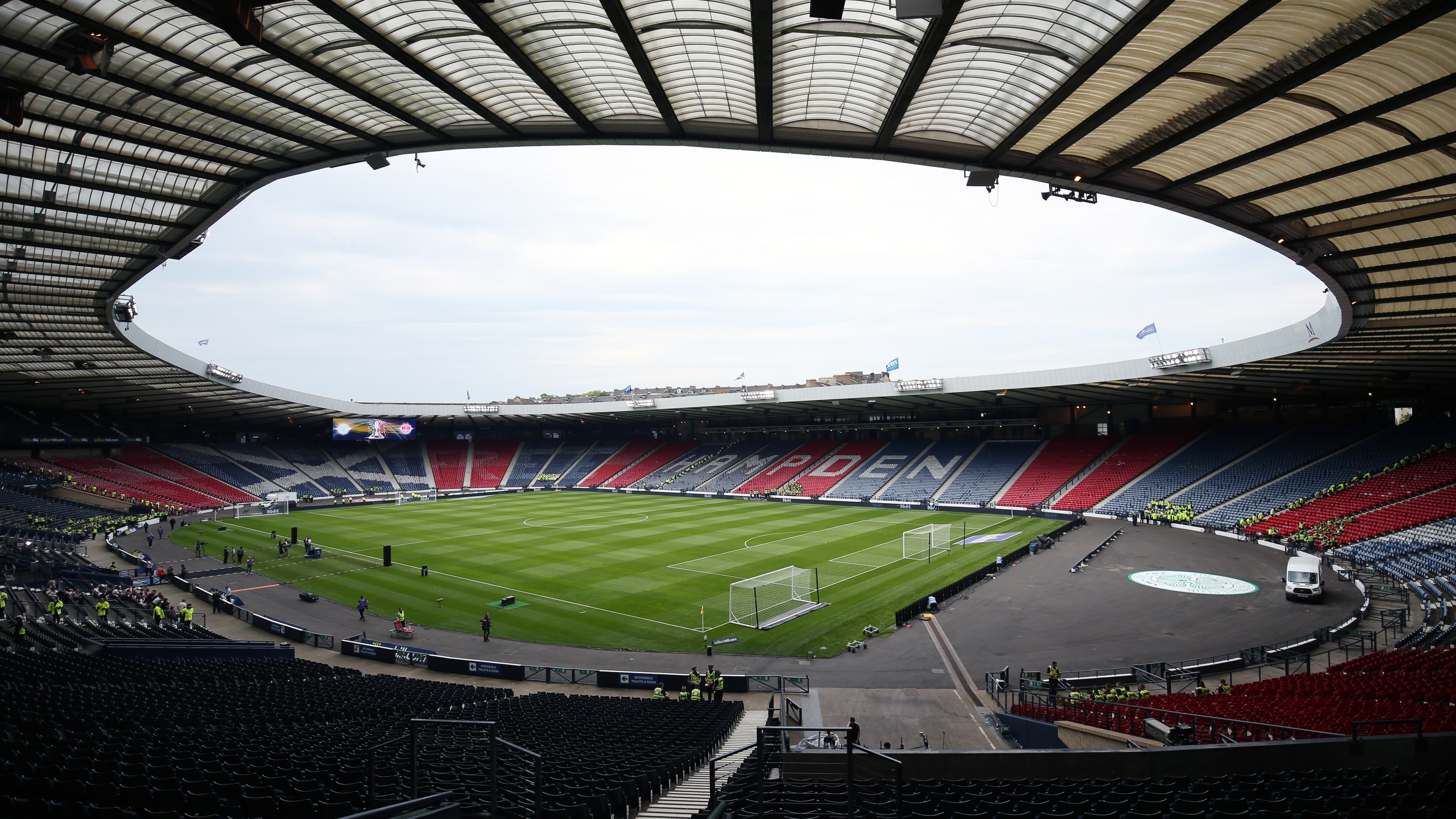 Hampden Park will now open at 3pm ahead of the 5pm kick-off.