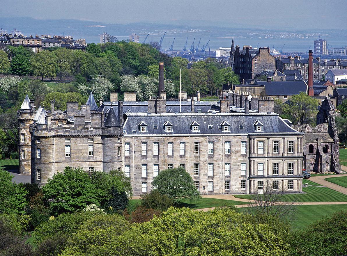 The Palace of Holyrood, Edinburgh