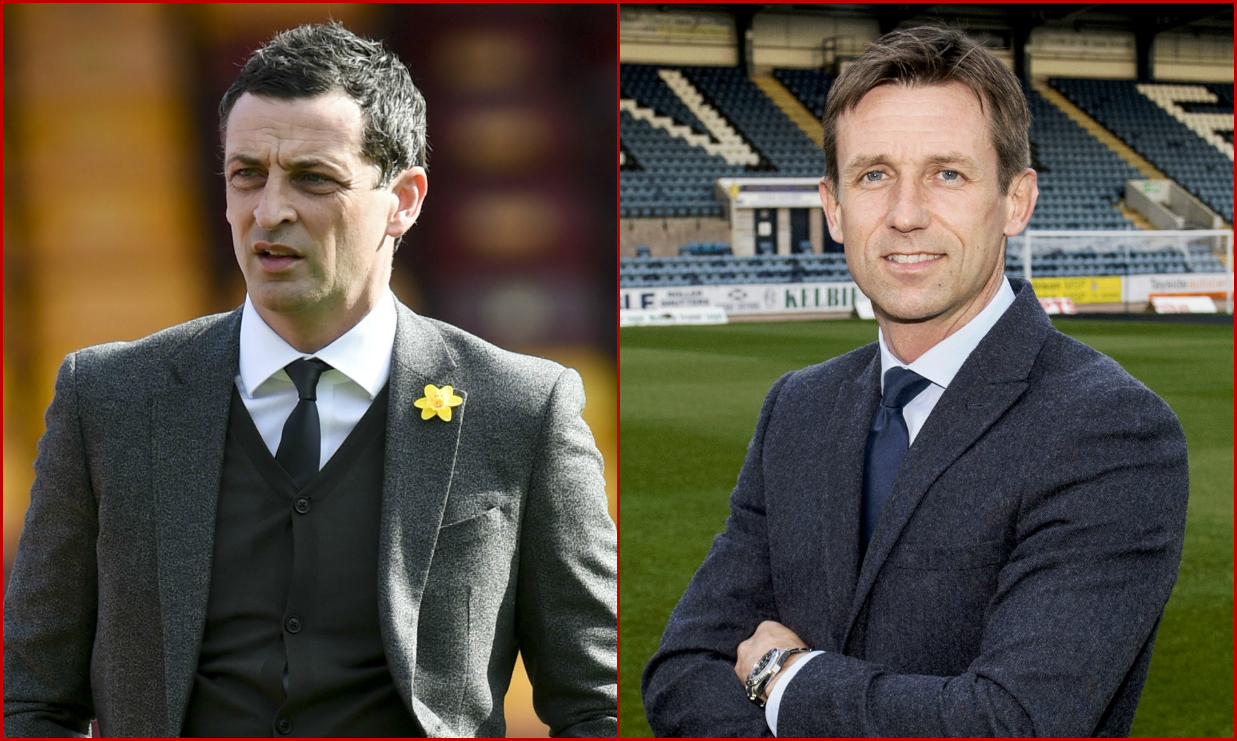 Jack Ross and Neil McCann will go head-to-head in a friendly