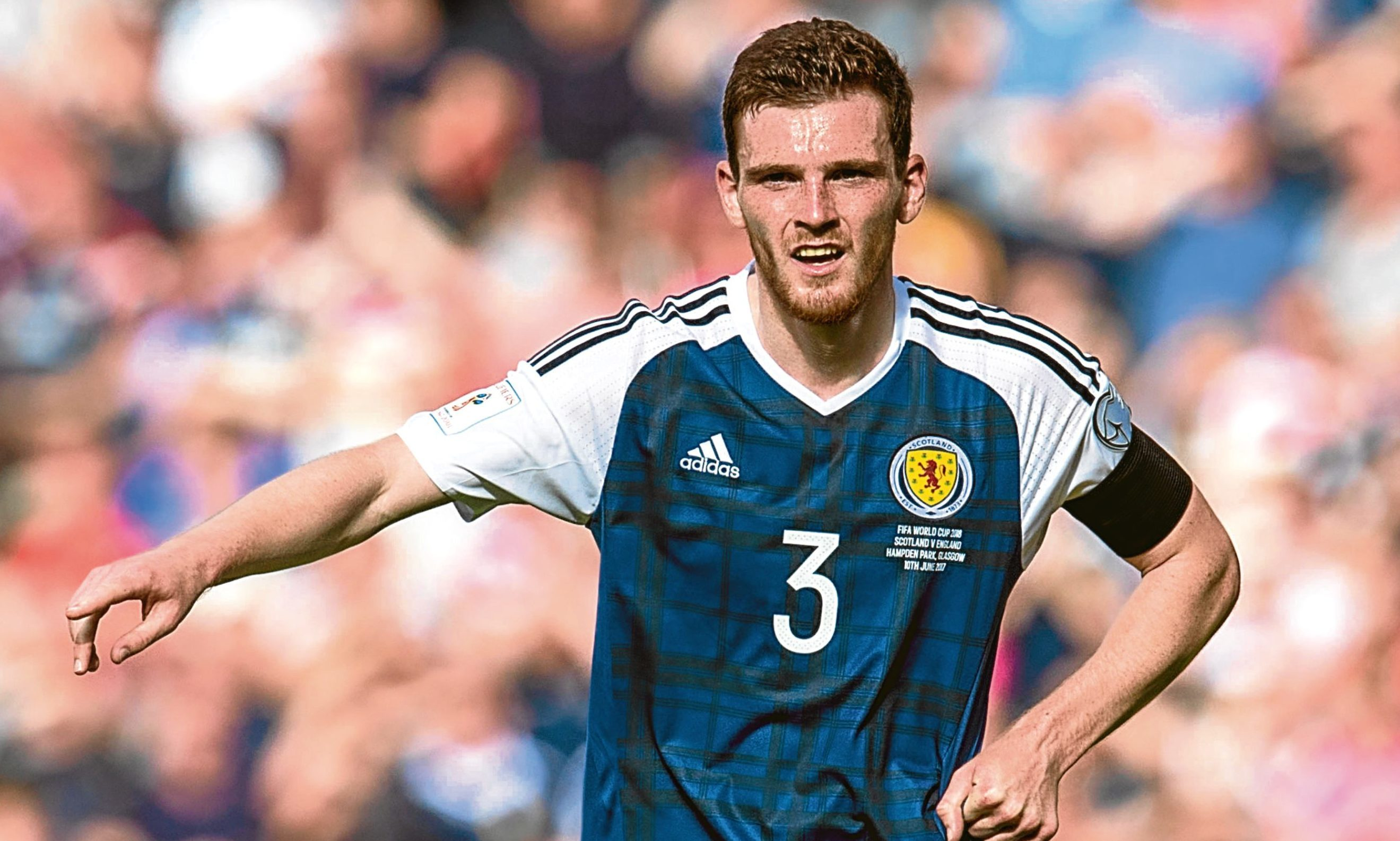 Former United star Andy Robertson