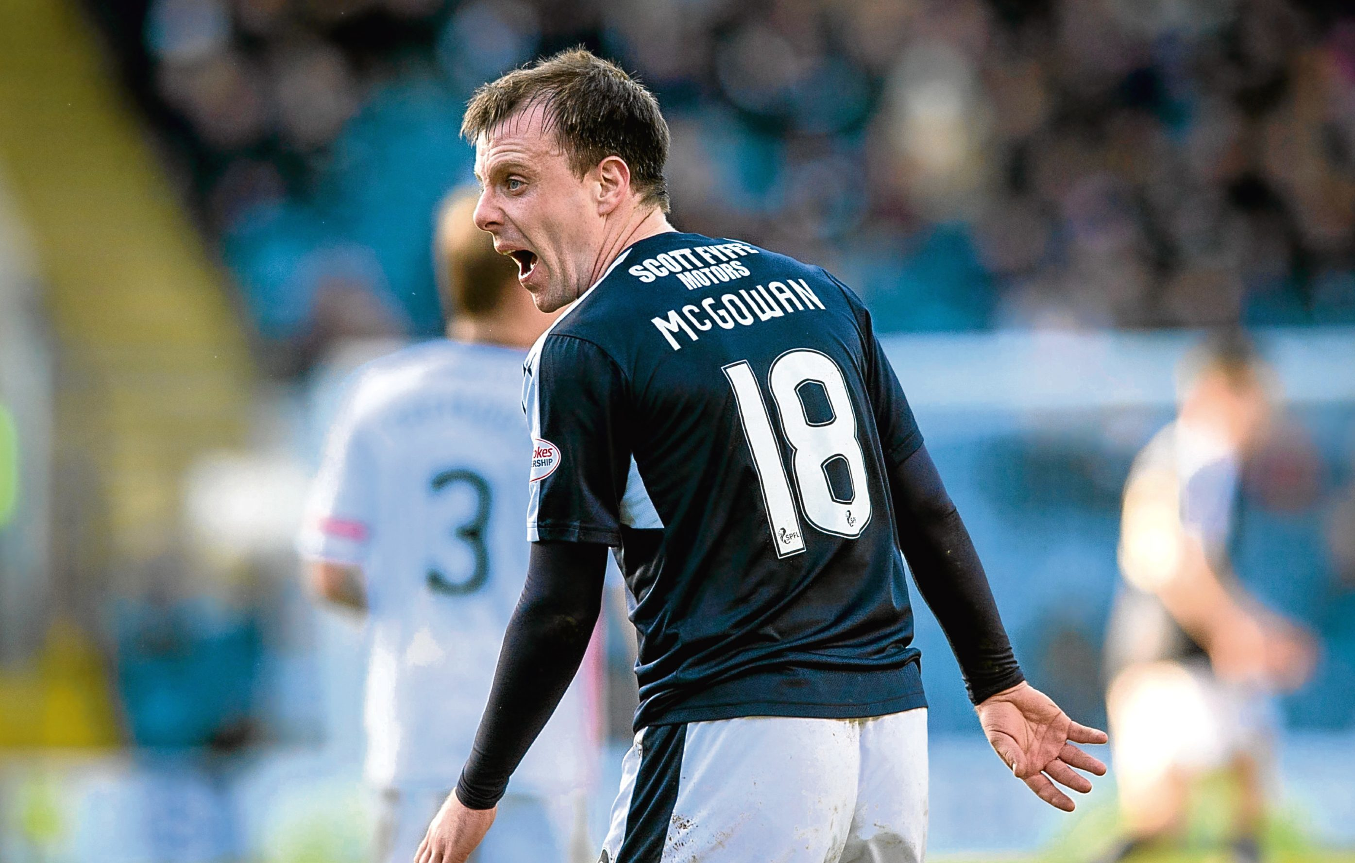 Paul McGowan says there are no guarantees of first team places as Neil McCann looks to mould his squad