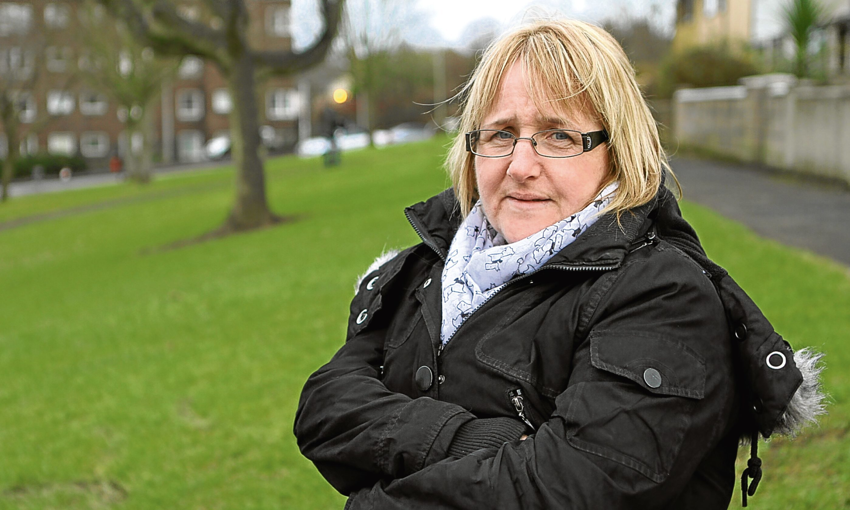 Catherine Hegarty, who started an online petition to keep the cashiers at the Asda Kirkton petrol station