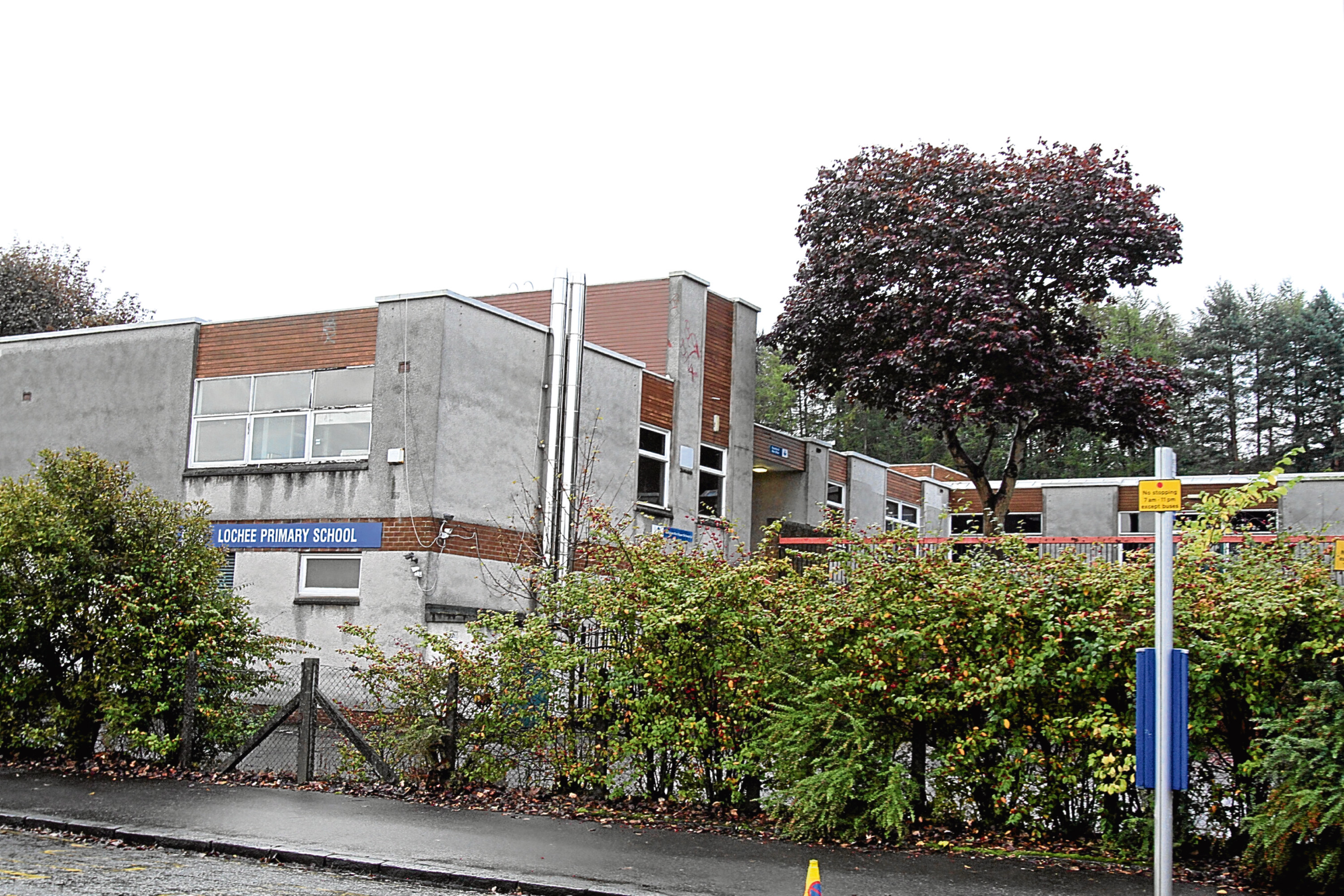 The former Lochee Primary building.