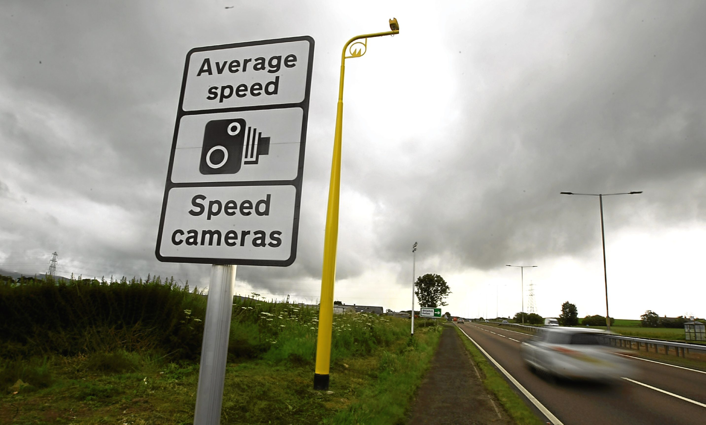A total of 30 average speed cameras will operate on the A90 between Dundee and Stonehaven
