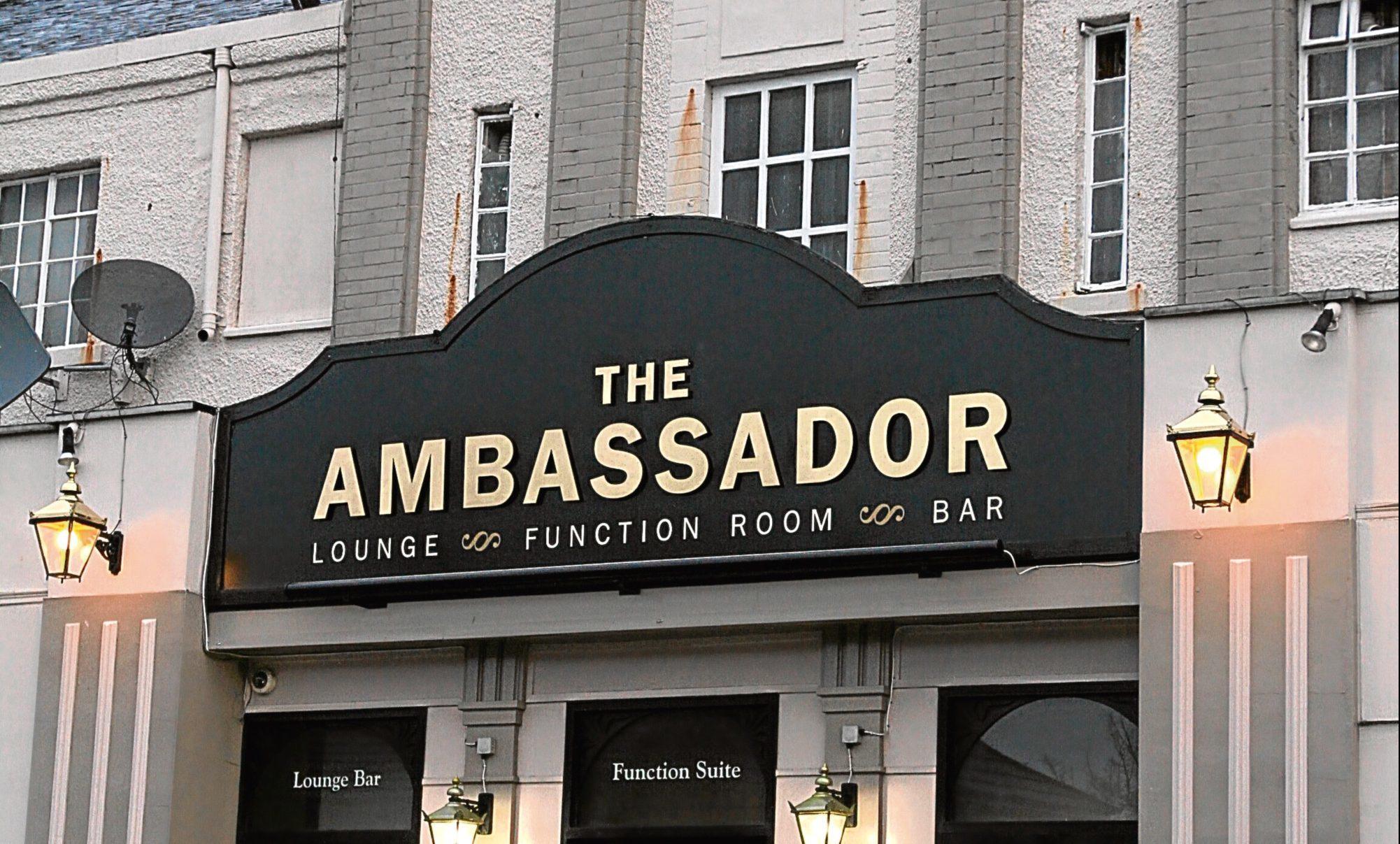 The Ambassador Bar on Clepington Road.