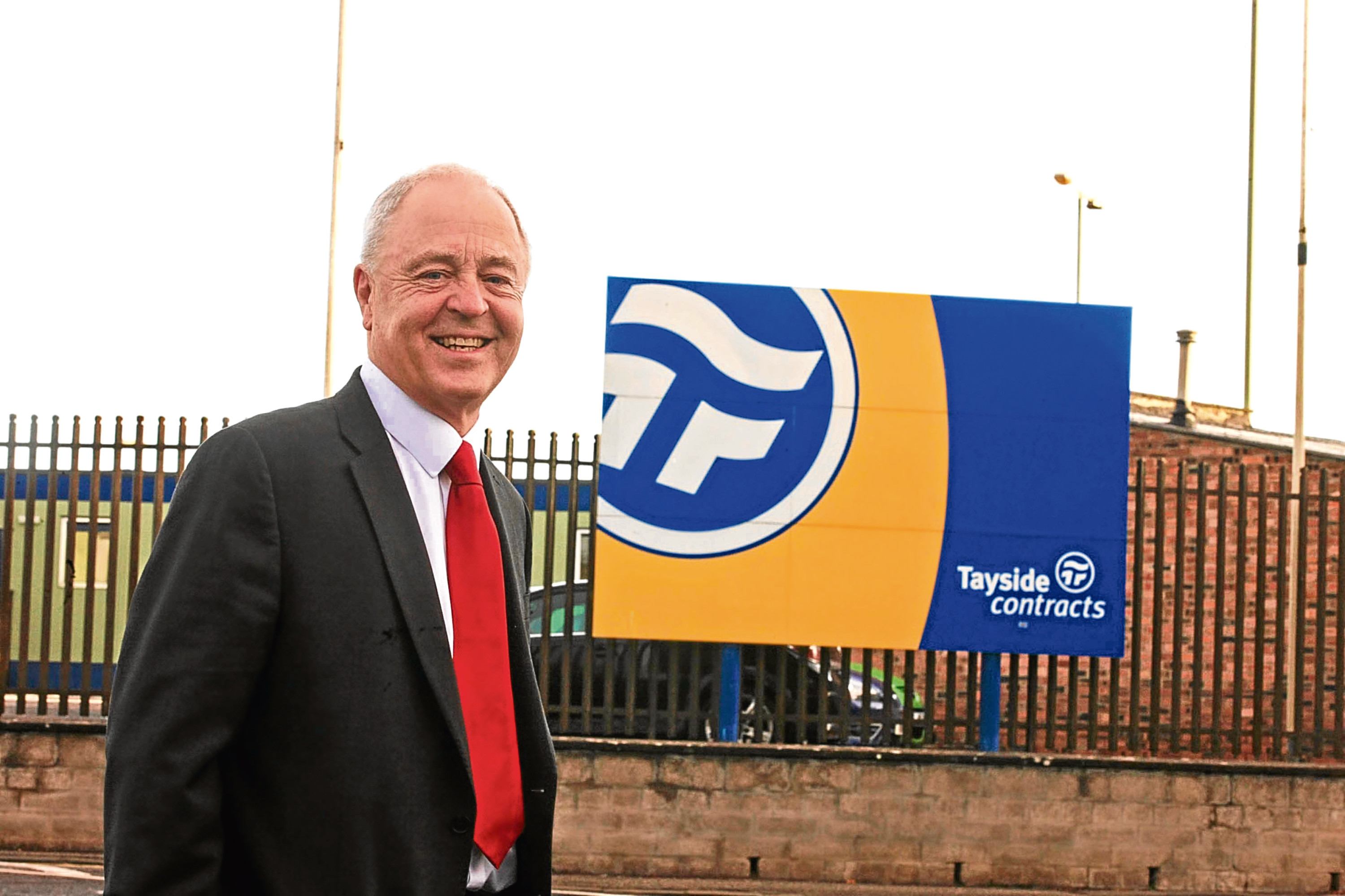 Iain Waddell, Tayside Contracts MD, has confirmed some staff will be furloughed.