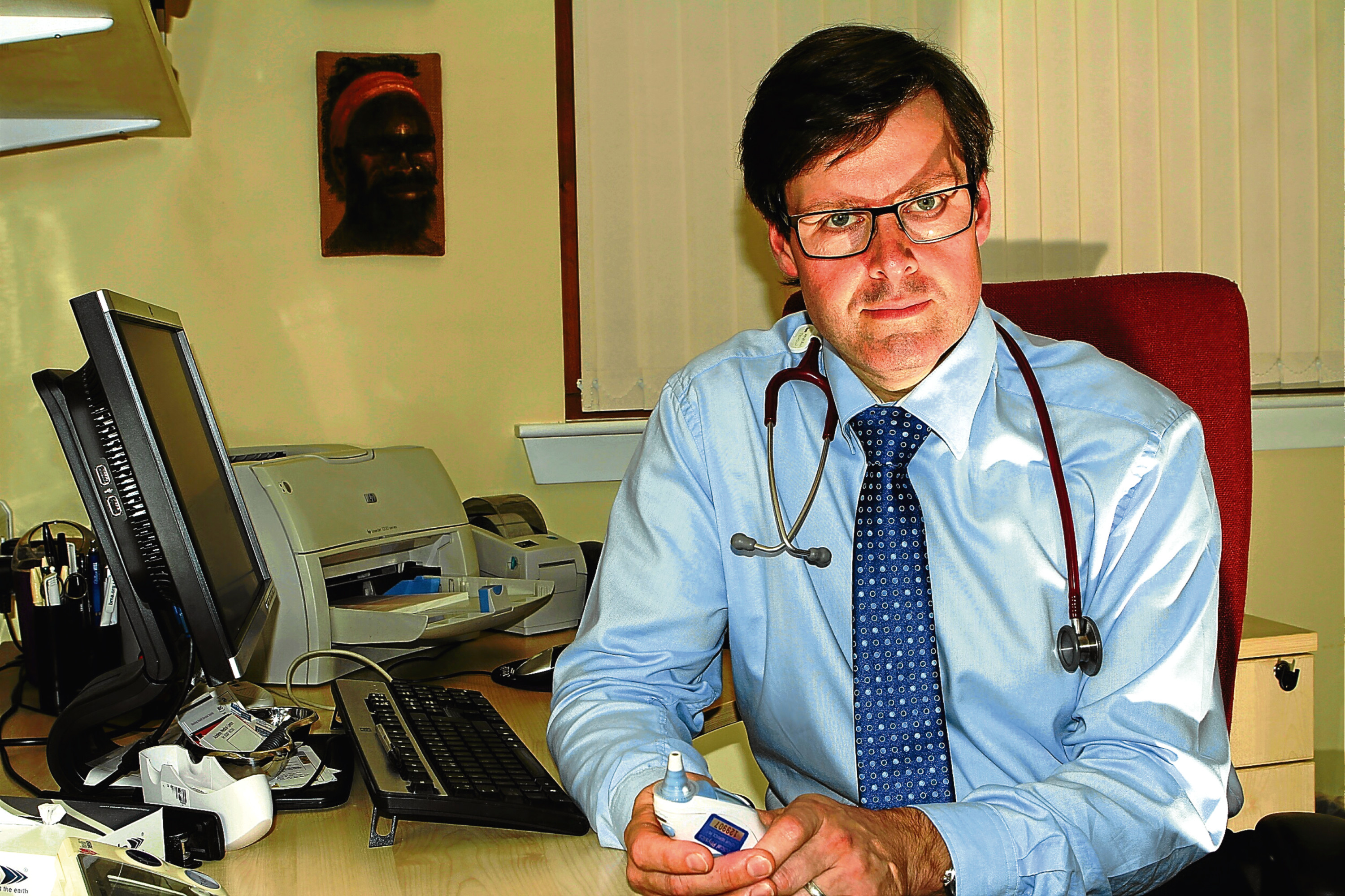 Dr Andrew Thomson, who worked at the Academy Medical Centre for several years.