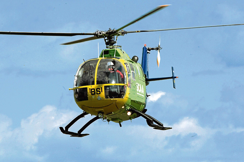 A Scottish Charity Air Ambulance.