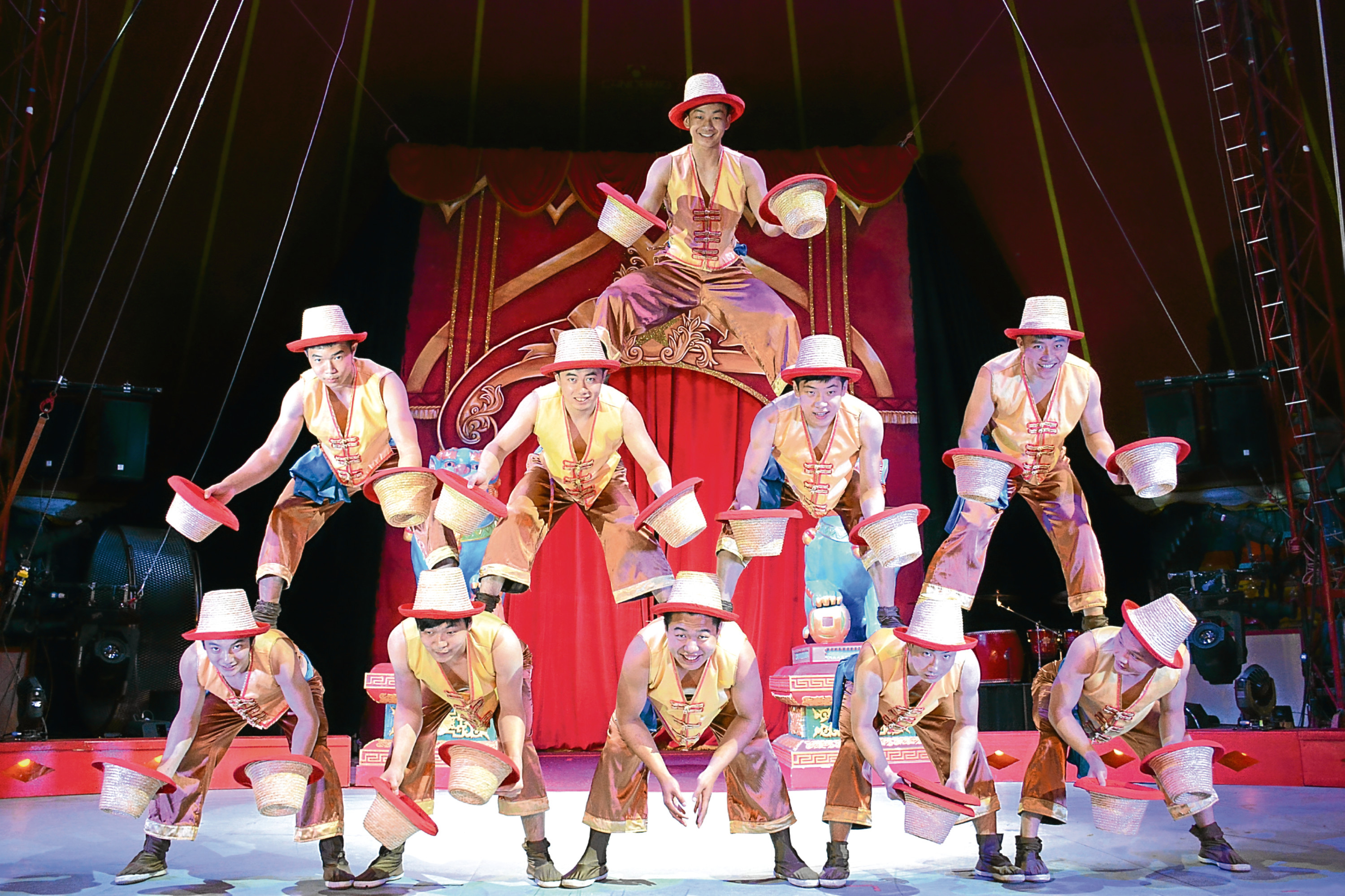 The Chinese State Circus is returning to Dundee next week with its latest production, Dynasty
