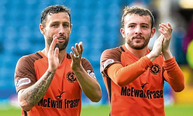 Scott McDonald (left) came off the bench for United in the derby at the weekend but will miss the league opener through suspension.