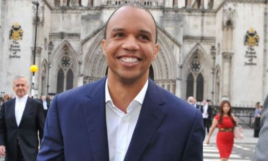 Professional poker player Phil Ivey outside the Royal Courts of Justice in central London