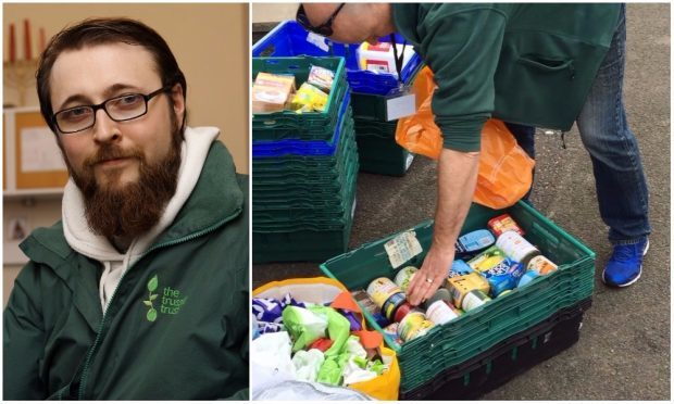 Ewan Gurr has previously visited city foodbanks and has applauded the work they do to alleviate benefit cuts.