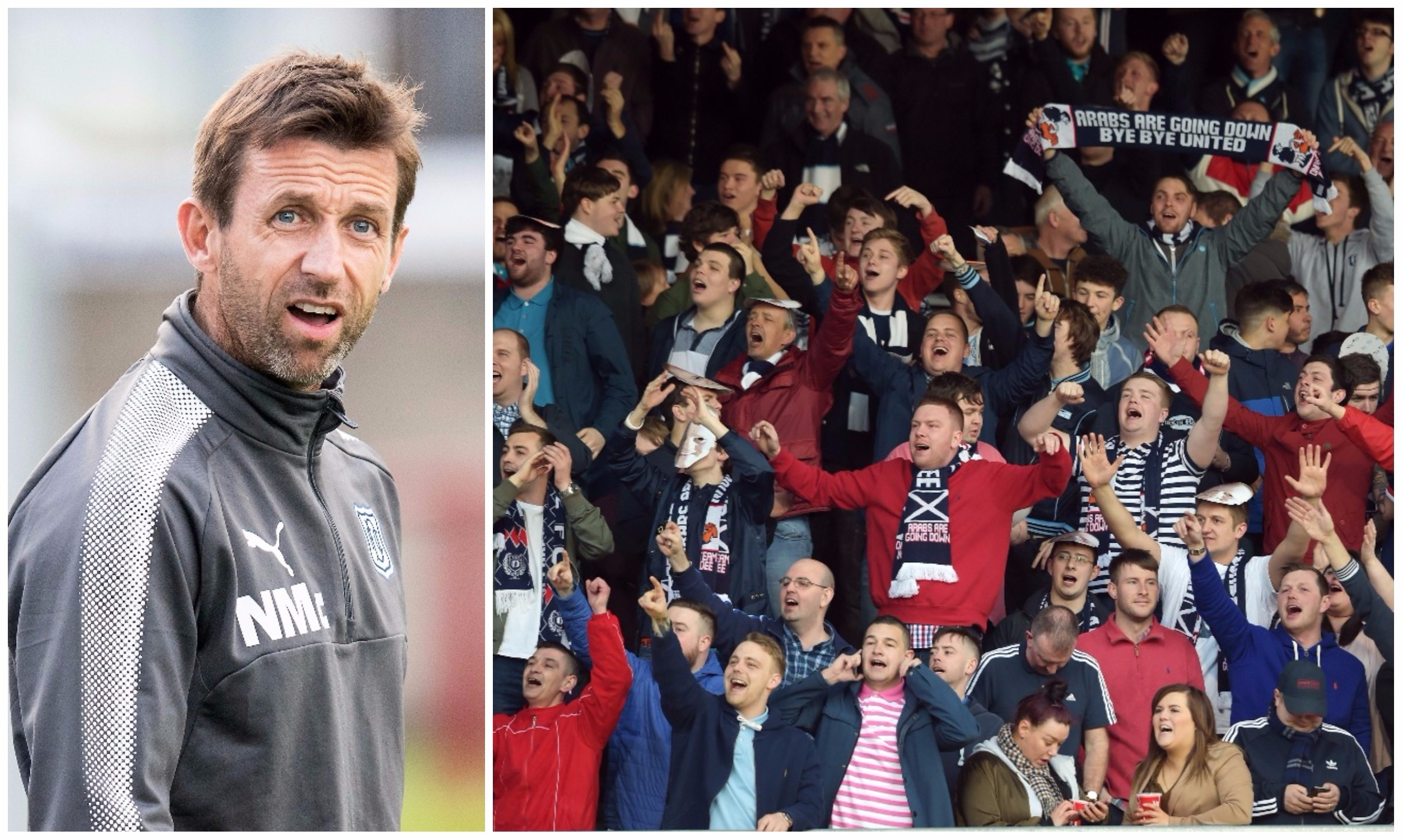 """Neil McCann says Dundee have """"only"""" sold about 3,200 season tickets"""