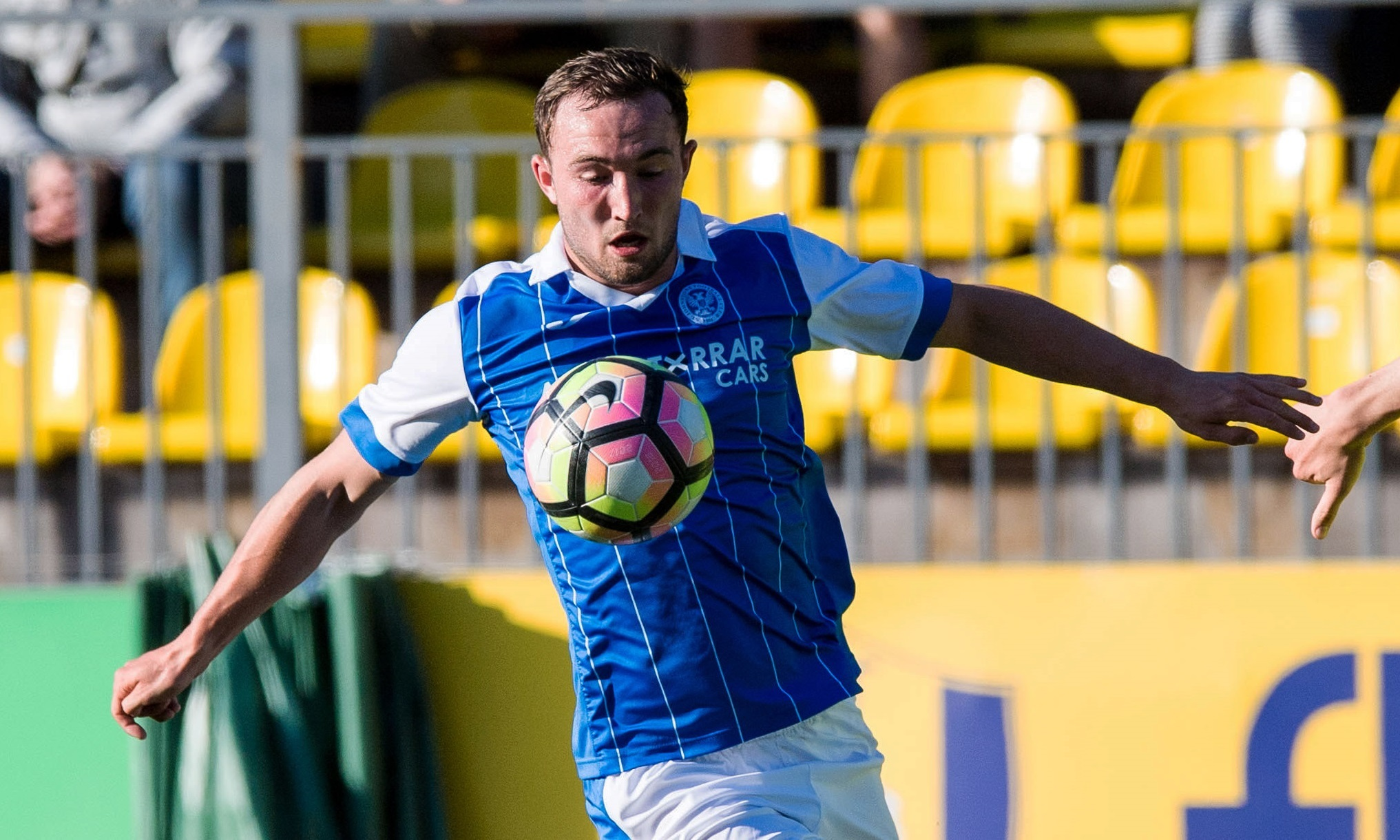 Chris Kane has extended his St Johnstone stay