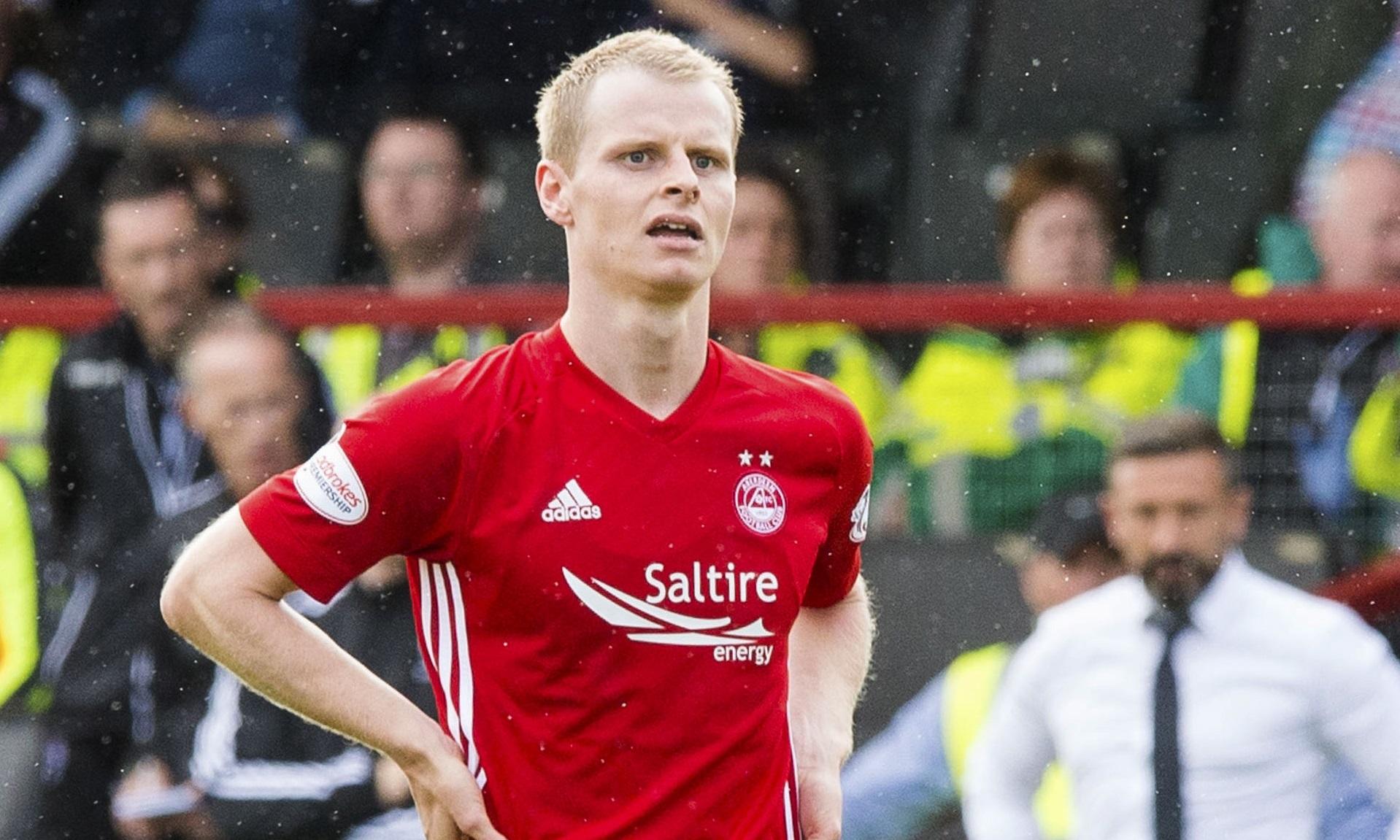 Aberdeen's Gary Mackay-Steven