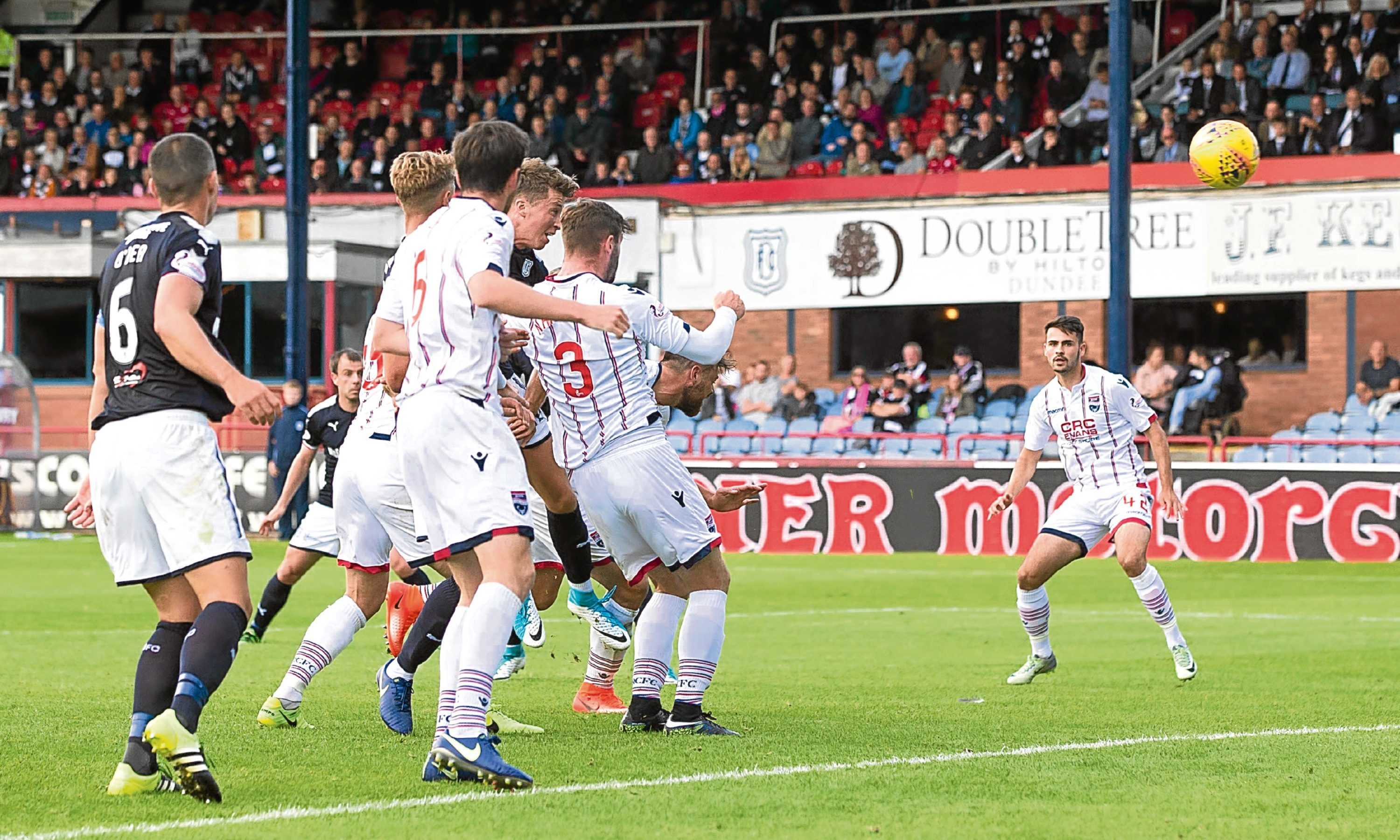 Dundee boss Neil McCann was pleased with the fight his side showed to claw a goal back against Ross County on Saturday