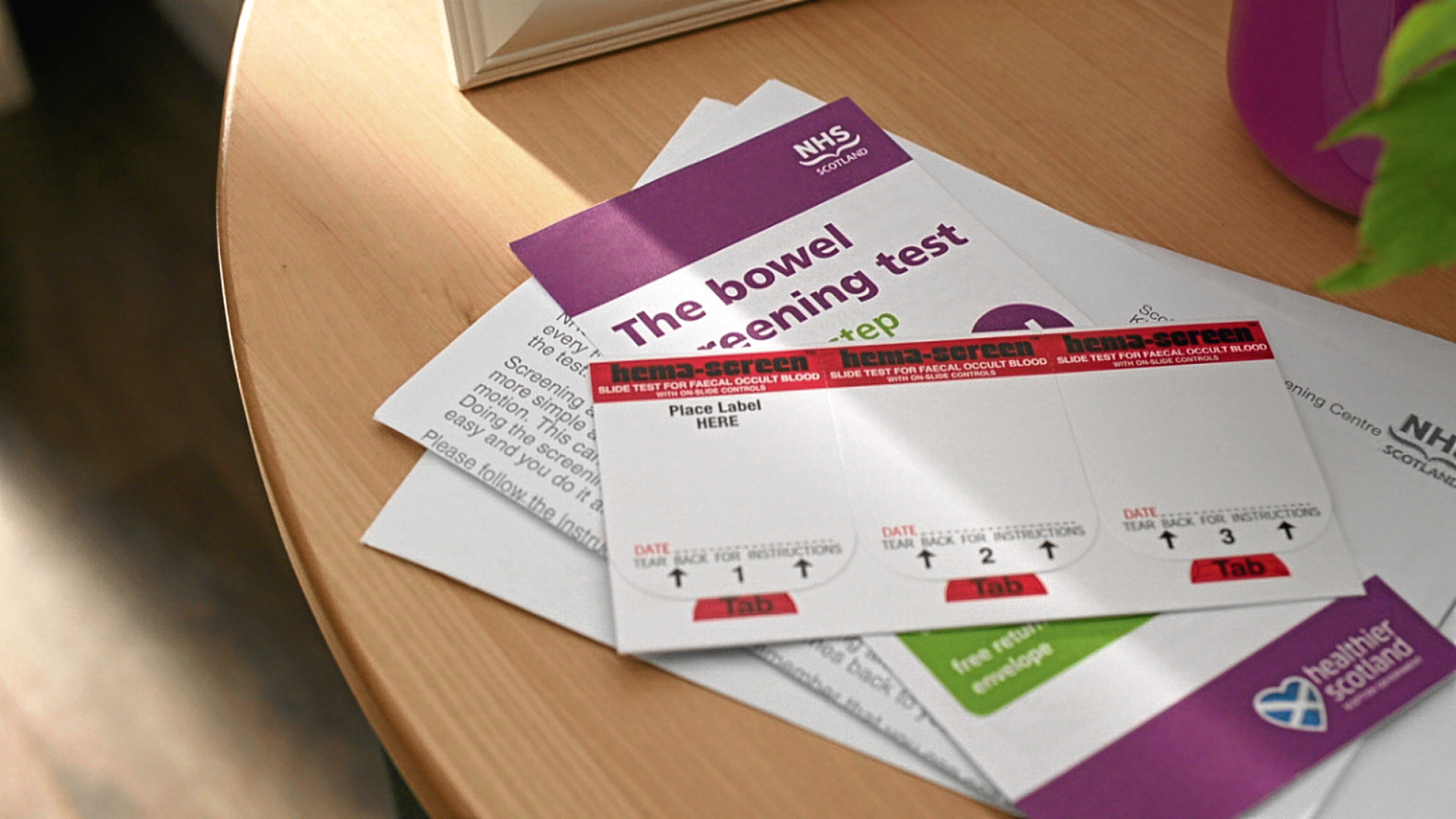 Bowel screening is offered to men and women aged 50-74.