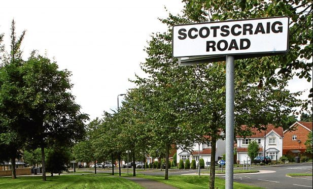 The junction of Scotscraig Road and Gleneagles Avenue in Ardler, where the attack took place