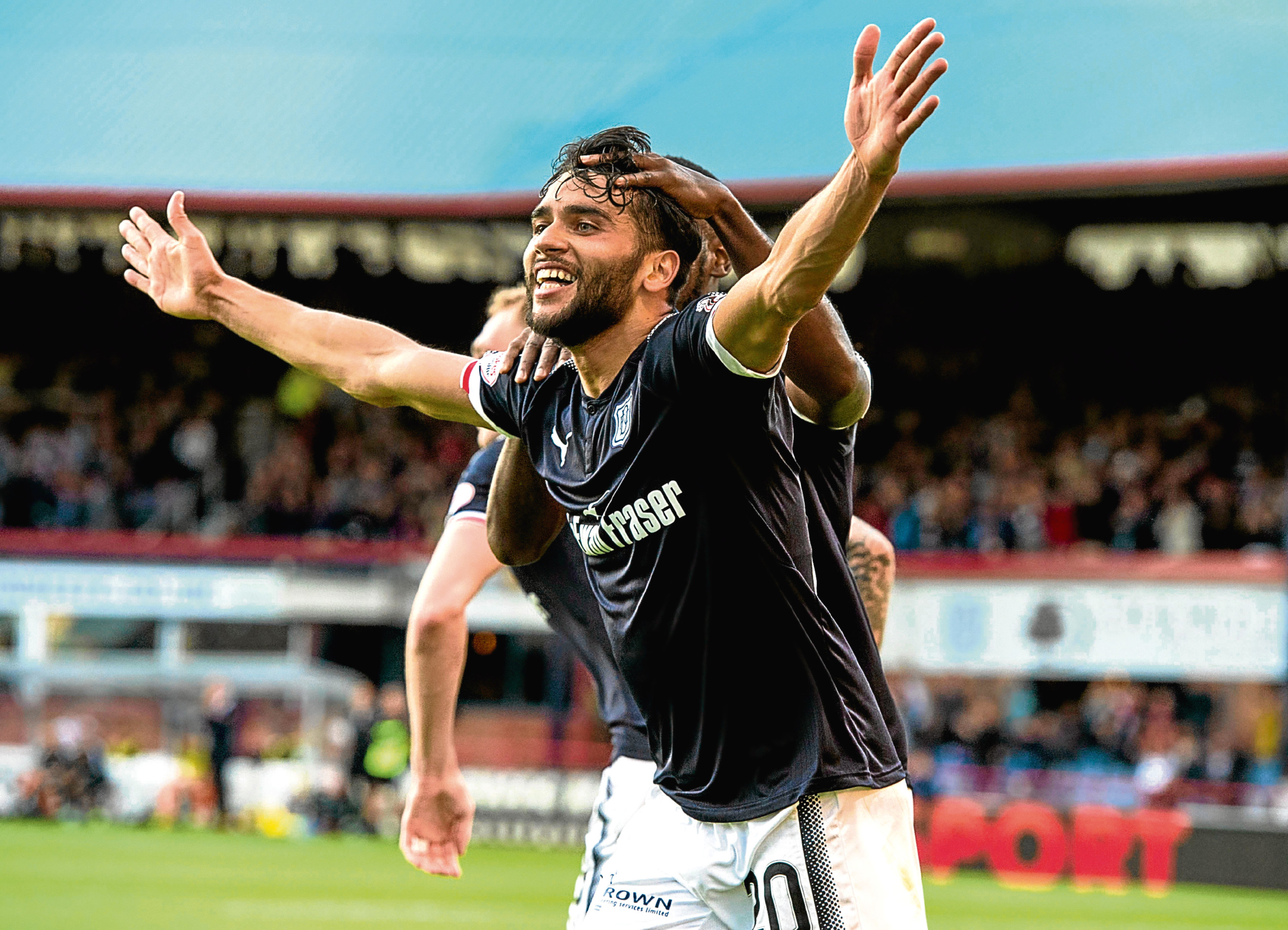 """Faissal El Bakhtaoui says he felt """"comfortable"""" playing against the big clubs."""