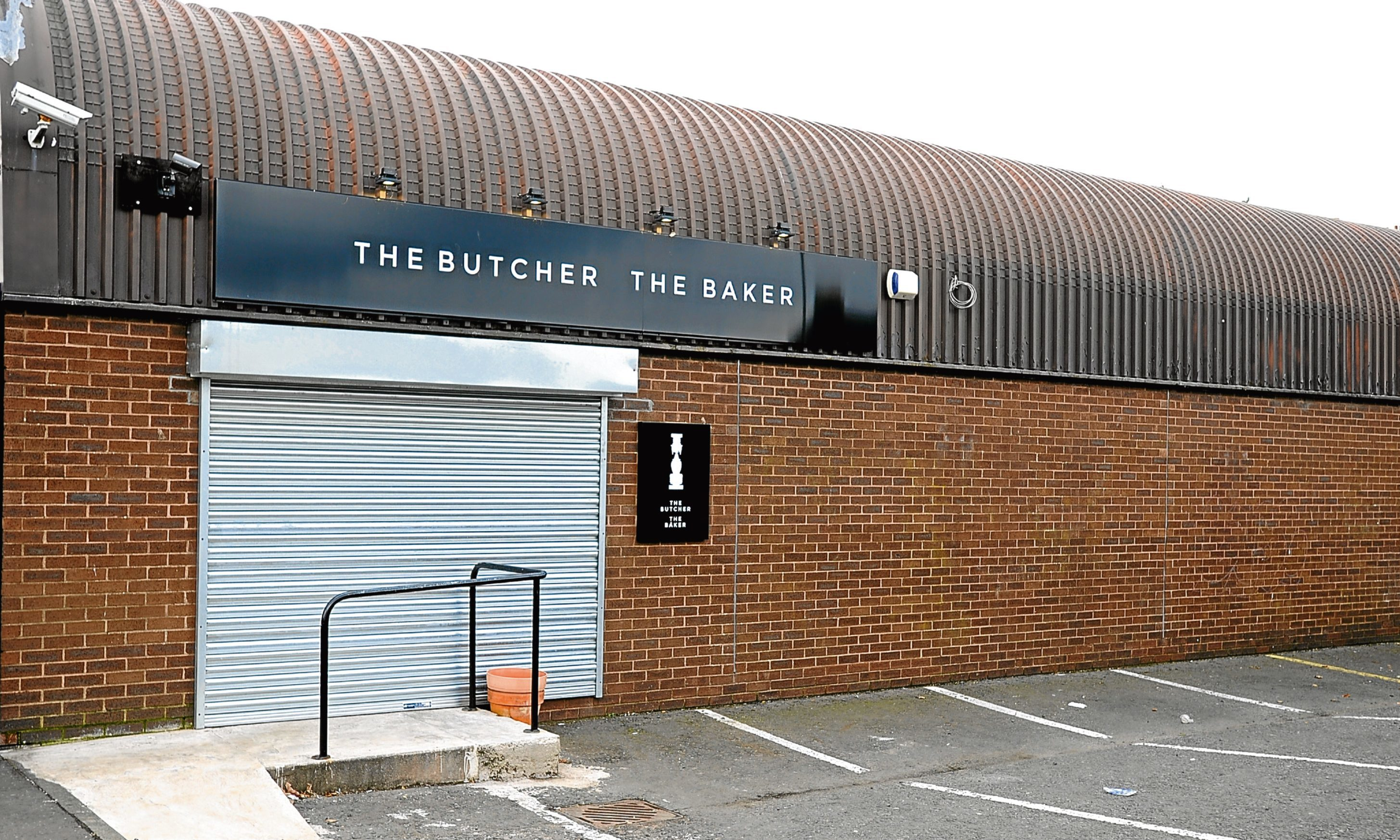 The Butcher The Baker in Annfield Road, Dundee