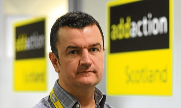 Dave Barrie of city-based charity Addaction