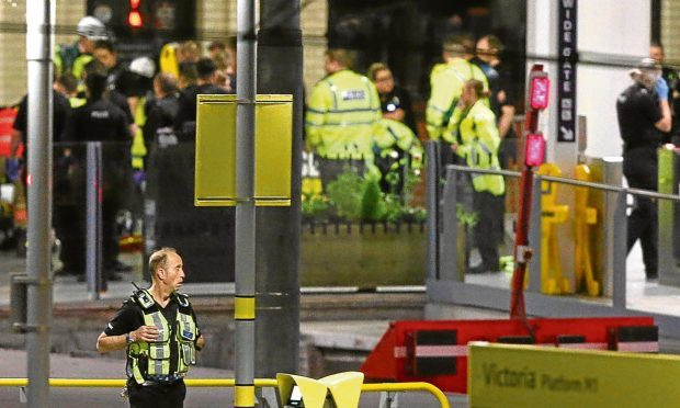 The aftermath of the Manchester bombing