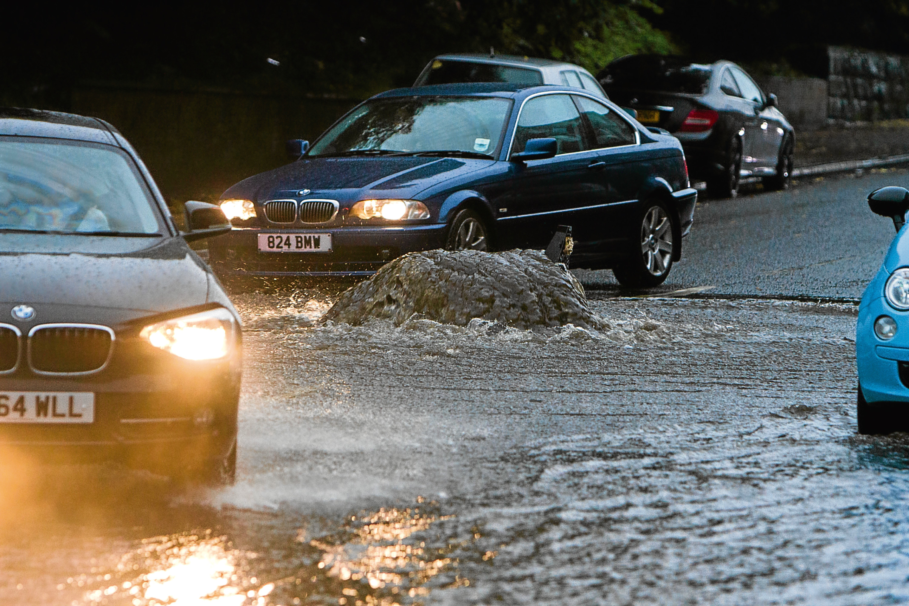 SEPA has issued a flood warning for Tayside.