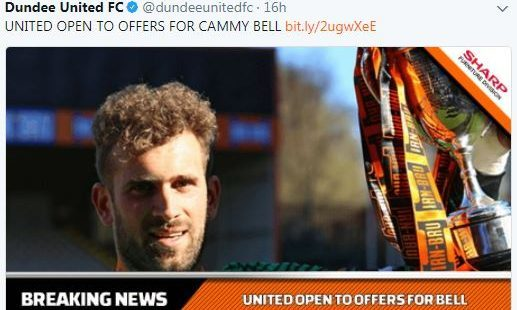 (Twitter/Dundee United FC)