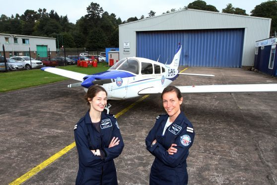 Rachel Foyle and Claire Birch.