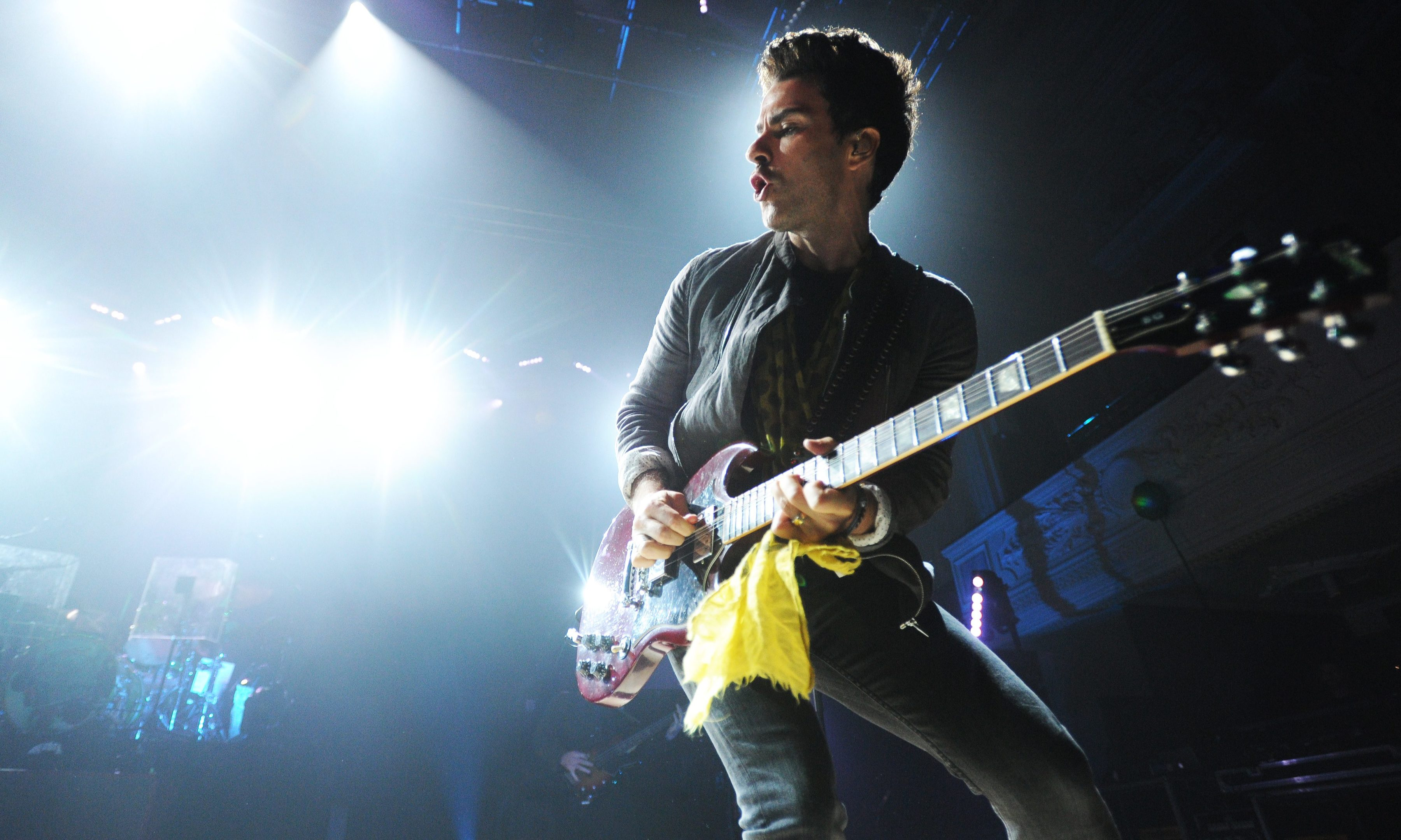 Kelly Jones of Stereophonics on the Caird Hall stage last month