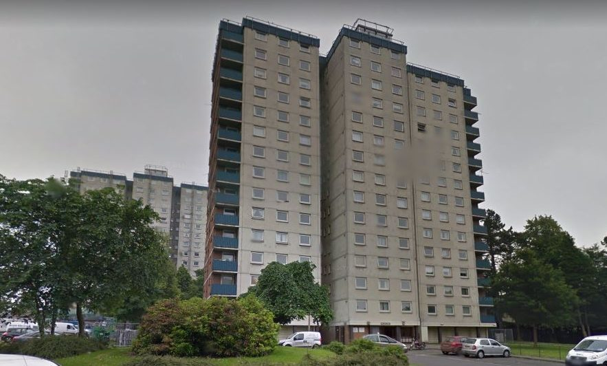 The incident happened in Lansdowne Court